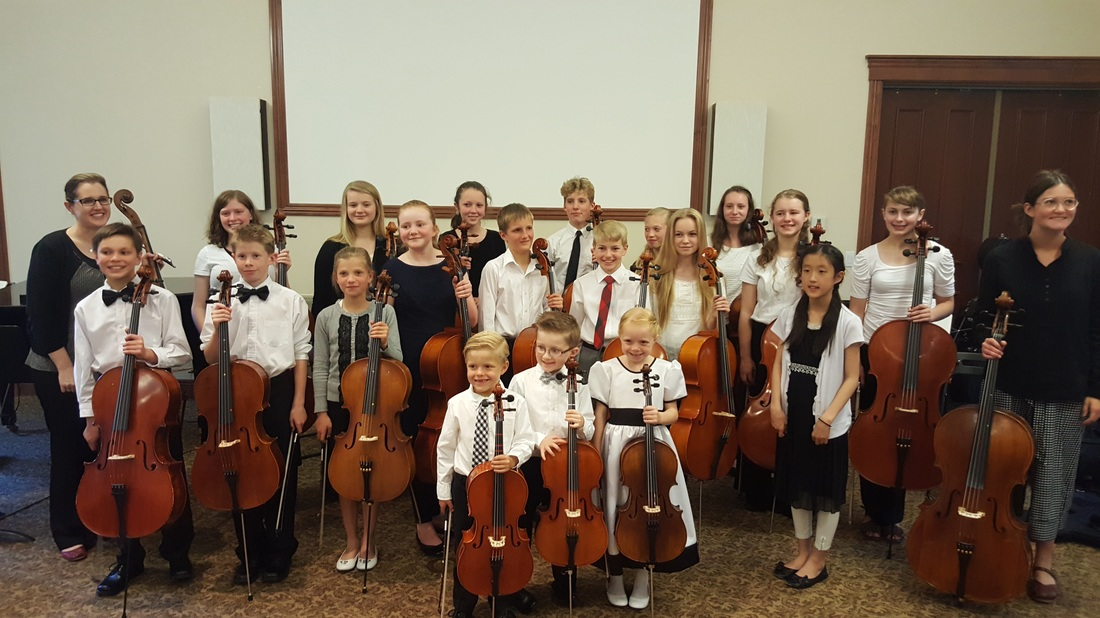 Megan Boyle Cello Studio Colorado Springs Private Lessons